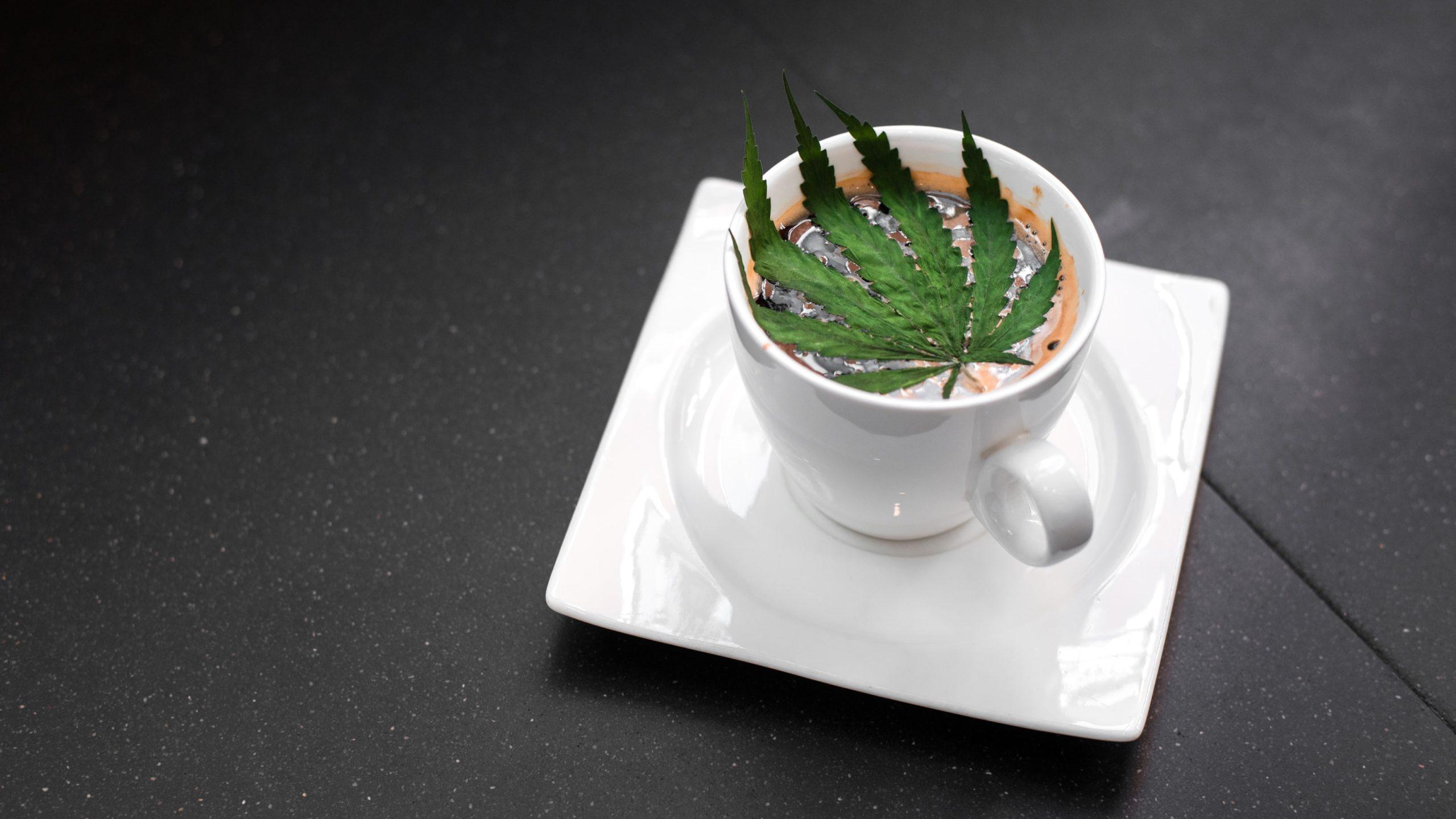 caffeine and cannabis